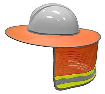 HI VIS FULL BRIM SUNSHADE - ORANGE by ML Kishigo by ML Kishigo