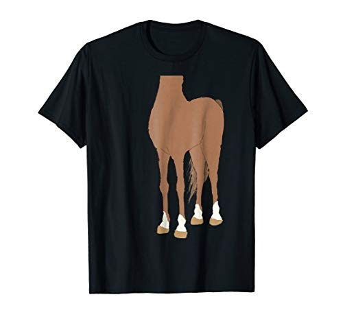Halloween Horse Body Costume Shirts for Kids]()