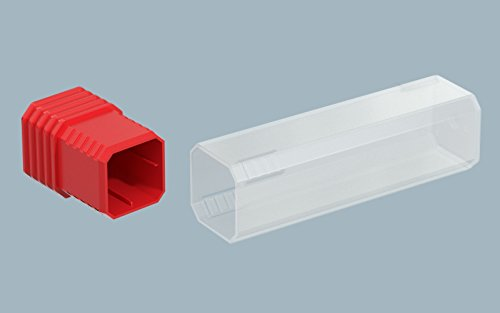 Cleartec GRPM080250L02 1/4'' Grip Pak 08 Plug LDPE Red (qty 1000) by Cleartec Packaging
