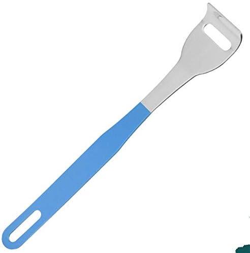 XSWY 1PC Nützliche Zungenschaber Edelstahl Oral Zungenreiniger Medizinische Mundbürste Wiederverwendbare Frischer Atem Maker (Farbe : C)