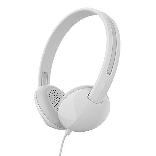 - Skullcandy Stim on-Ear Headphone, White/Gray (S2LHY-K568)