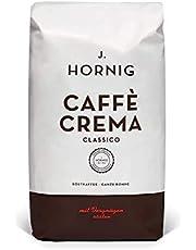 J. Hornig Kaffee Ganze Bohnen Kräftig und Vollmundig, Caffè Crema Classico