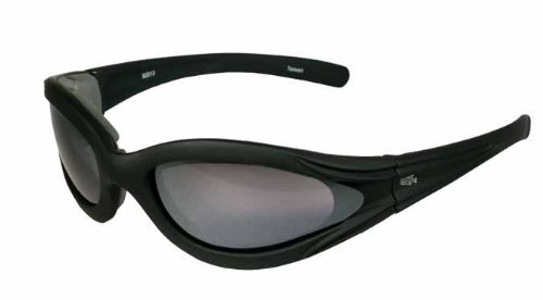 Eye Ride Hugger II Glasses (Black/Smoke)