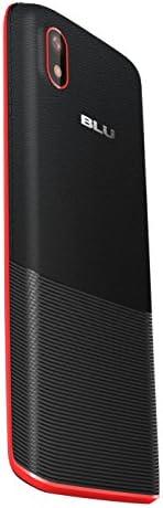 BLU Tank II T193 Unlocked GSM Dual-SIM Cell Phone w/ Camera and 1900 mAh Big Battery - Unlocked Cell Phones - Retail Packaging - Black Red