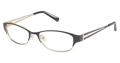 Ted Baker Women's Optical Eyeglasses B220 Black/gold Size ()