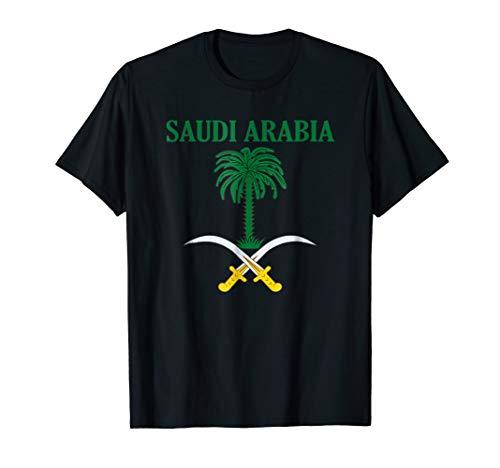 (Saudi Arabia Coat of Arms National Emblem T-Shirt)