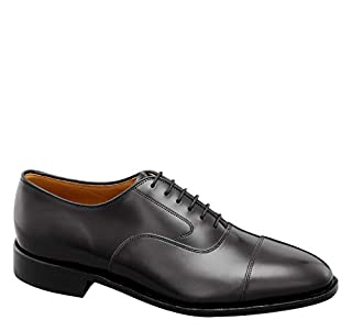 Johnston & Murphy Men's Melton Cap Toe Shoe Black Calfskin 8.5 E US (B000UUMBCU) | Amazon price tracker / tracking, Amazon price history charts, Amazon price watches, Amazon price drop alerts