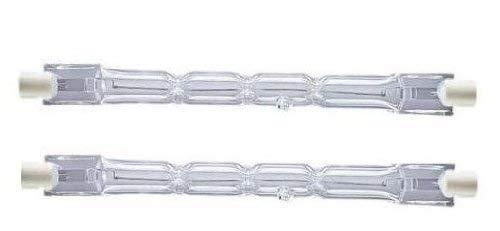 4650 lumen /Éclairage Lot de 2 ampoules halog/ènes Eco 230W = 300W R7s J118 Ampoule halog/ène lin/éaire basse consommation Ampoules 118 mm de longueur 240 V Compatible avec variateur de Lampes tungst/ène