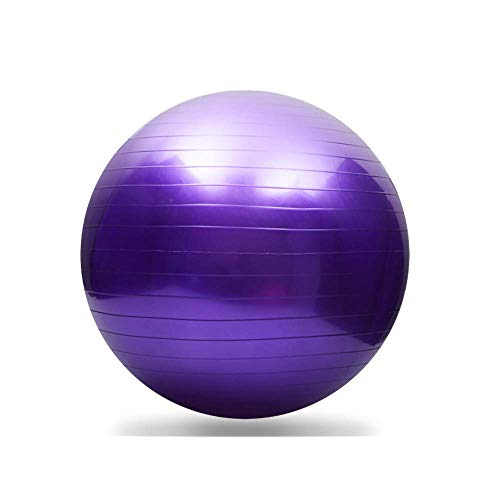Emoly Exercise Ball for Yoga, Fitness, Balance Stability, Extra Thick Professional Grade Balance & Stability Ball – Anti…