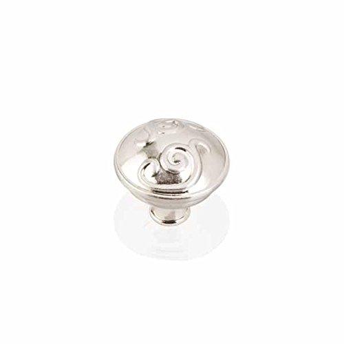 (Satin Nickel Scrolled Dome Knob (HR531SN))