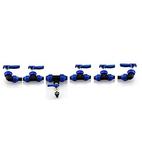 t/äsler-produktion Conector IBC S60/x 6/Tapa con pe 90//° /ángulo Multicolor