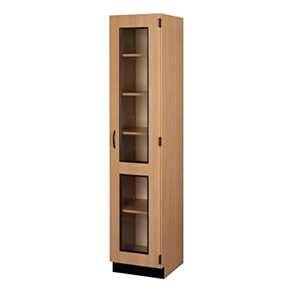 Amazon Tall Storage Cabinet W Glass Doors Right Hinge
