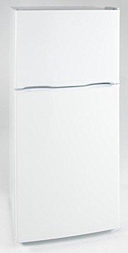 op Freezer Refrigerator with 9.9 cu. ft. Capacity Adjustable Glass Shelves Reversible Doors, White (Frost Free Top Freezer Refrigerator)