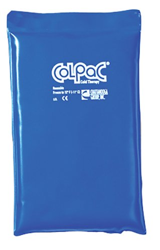 Col-PaC 00-1506-12 Blue Vinyl Cold Pack Half Size 7.5 x 11 Inch Case of 12 by ColPac