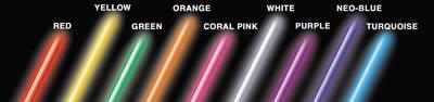 SGIAN9WH - Streetglow WHITE 9IN MINI NEON TUBES