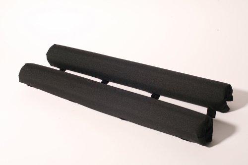"Vitamin Blue 27"" Roof Rack Pads Black - Non Logo (MADE in U.S.A.) AERO PADS"