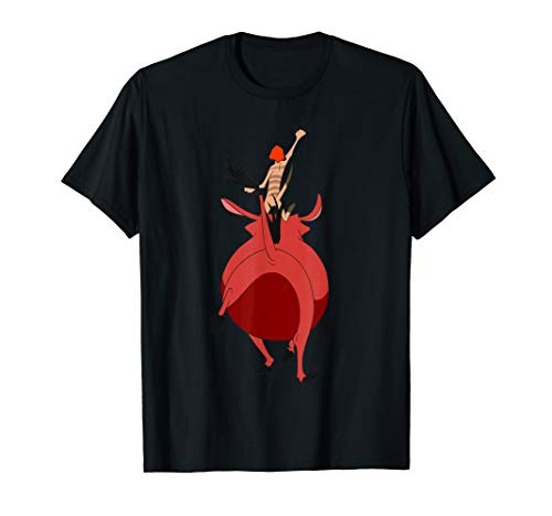 (Disney Lion King Timon & Pumbaa Walking Away Graphic T-Shirt)