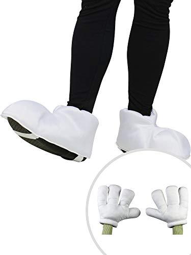 Cartoon Feet Costume Accessory Kit Adult One Size