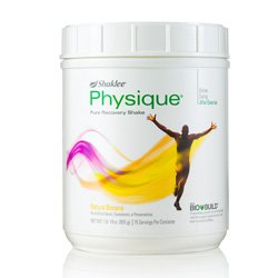 Physique 15 Servings, Natural Banana Flavor
