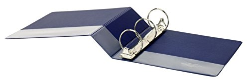 OfficeMax Durable Reference Binders with Round Ring 3'', Blue by OfficeMax (Image #3)