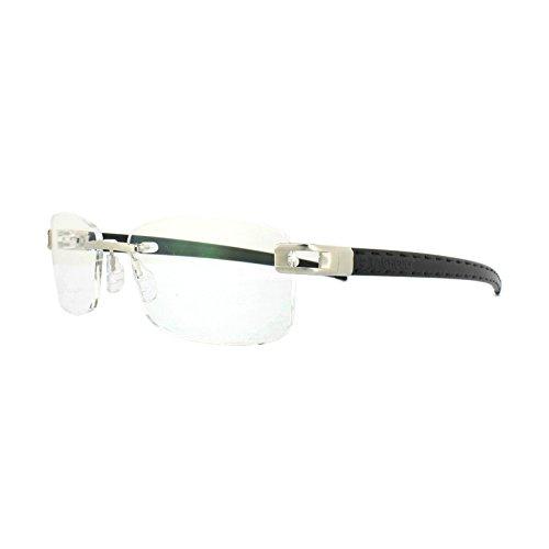 Tag Heuer Glasses Frames L-Type T 0151 002 Platinum Black - L Sunglasses Heuer Type Tag