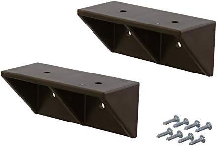 [スポンサー プロダクト]平安伸銅工業 LABRICO DIY収納パーツ シェルフサポート 棚受 DXB-52 ブロンズ 2個入