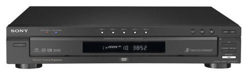 - Sony DVP-NC875V/B 5-Disc DVD/CD/SACD Changer, Black