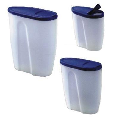 Schüttdosen, Aufbewahrungdosen, Dosen für Cerealien, farblich sortiert