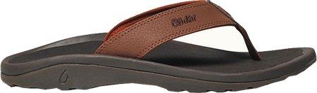 Olukai Ohana Sandale - Brique Pour Hommes / Dark Java