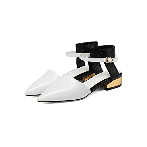 basso Thirty tacco forte con six e casual scarpe Sandali tacco donna Donna FxqYRtY