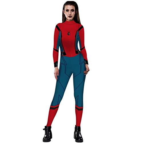 Tsyllyp Women Halloween Costume Spiderman Homecoming Suit
