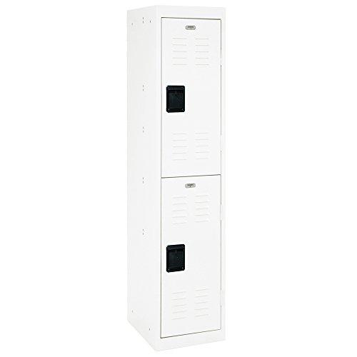 Steel 2 Lockers Tier - Sandusky Lee LF2B151866-22 2 Tier Welded Steel Storage Locker, 66
