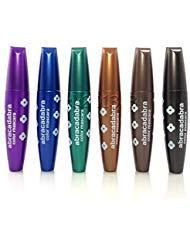 She Makeup Cosmetics Professional Color Mascara Set of 6 Colors ()