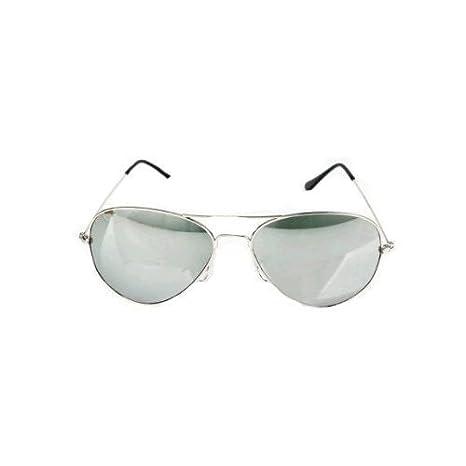 Petites lunette de soleil femme aviateur miroir avec pochette de protection et chiffon MVABkoo
