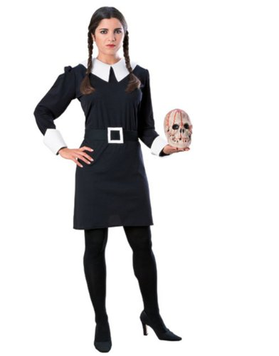 Wednesday Addams Family Adult Costume (Adult Cartoon Characters)