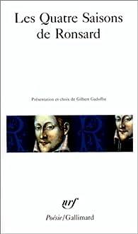 Les Quatre Saisons de Ronsard par Pierre de Ronsard