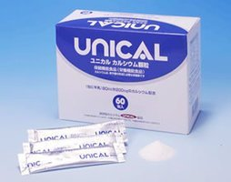 お得な3個セット 牛乳180cc分 レモン風味 ユニカル カルシウム顆粒 60包   B0798BNGSR