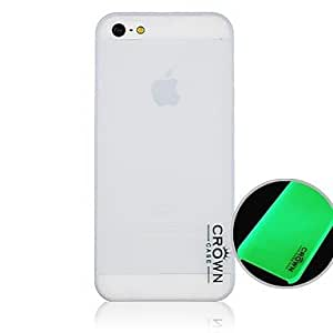 CaseBox? Letter Pattern Fluorescence after Sunniness Hard Back Case for iPhone5/5S