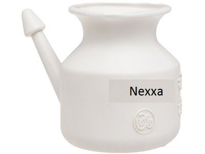 Traveller's Neti Pot for Nasal Cleansing, Little teapots with long spouts,Economy, Light-Weight Neti Pot | Handy, Compact & Travel Friendly