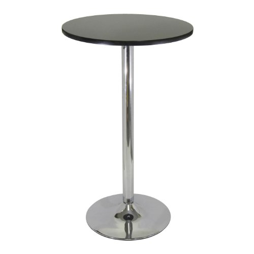 Chrome Pub Table - Winsome 93624 Table