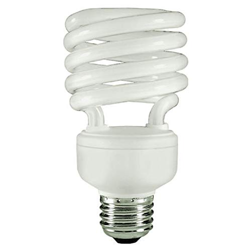 - Energy Miser FE-IISB-23W-65K - 23 Watt CFL Light Bulb - Compact Fluorescent - T2 - 100 W Equal - 6500K Full Spectrum Daylight - 80 CRI - 70 Lumens per Watt