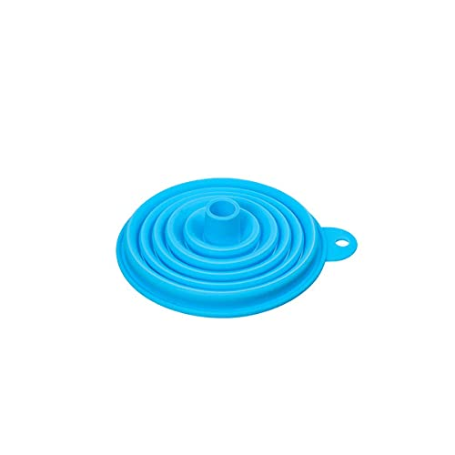 Silicone Funnels Collapsible Wide Mouth Water Bottle Kitchen Silicone Funnel