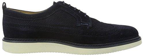 Gant Iv, Zapatos de Cordones Derby para Hombre Azul - Blau (Marine G69)