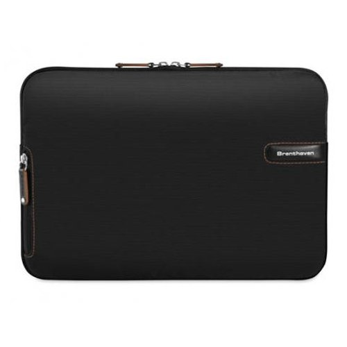 Brenthaven 2100 ProStyle Sleeve II for Macbook / Laptop / Tablet / Ultrabook up to 15.4-inch - Black / Copper