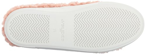 J Slides Jslides Womens Affaire Fashion Sneaker, Wit, 7.5 Us / Us Size Conversion M Us Blush