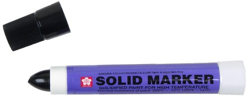 Price comparison product image Sakura Solidified Paint Solid Marker,  Black (Box of 12)