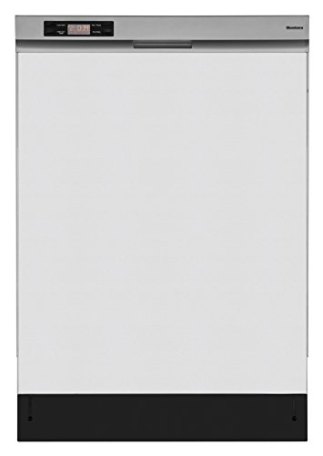 Blomberg DWT24100SS Dishwasher with Steep Tub Front Controls, 14 Place Settings, Stainless Steel