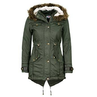 Minx Original Premium Quality Girls Parka Jacket Faux Fur Trim ...
