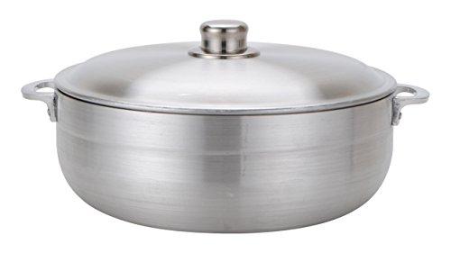 Aramco Alpine Gourmet Caldero, 13 quart, Silver by Aramco (Image #1)