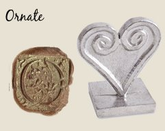 - Initial Wax Seal Stamp -3/4